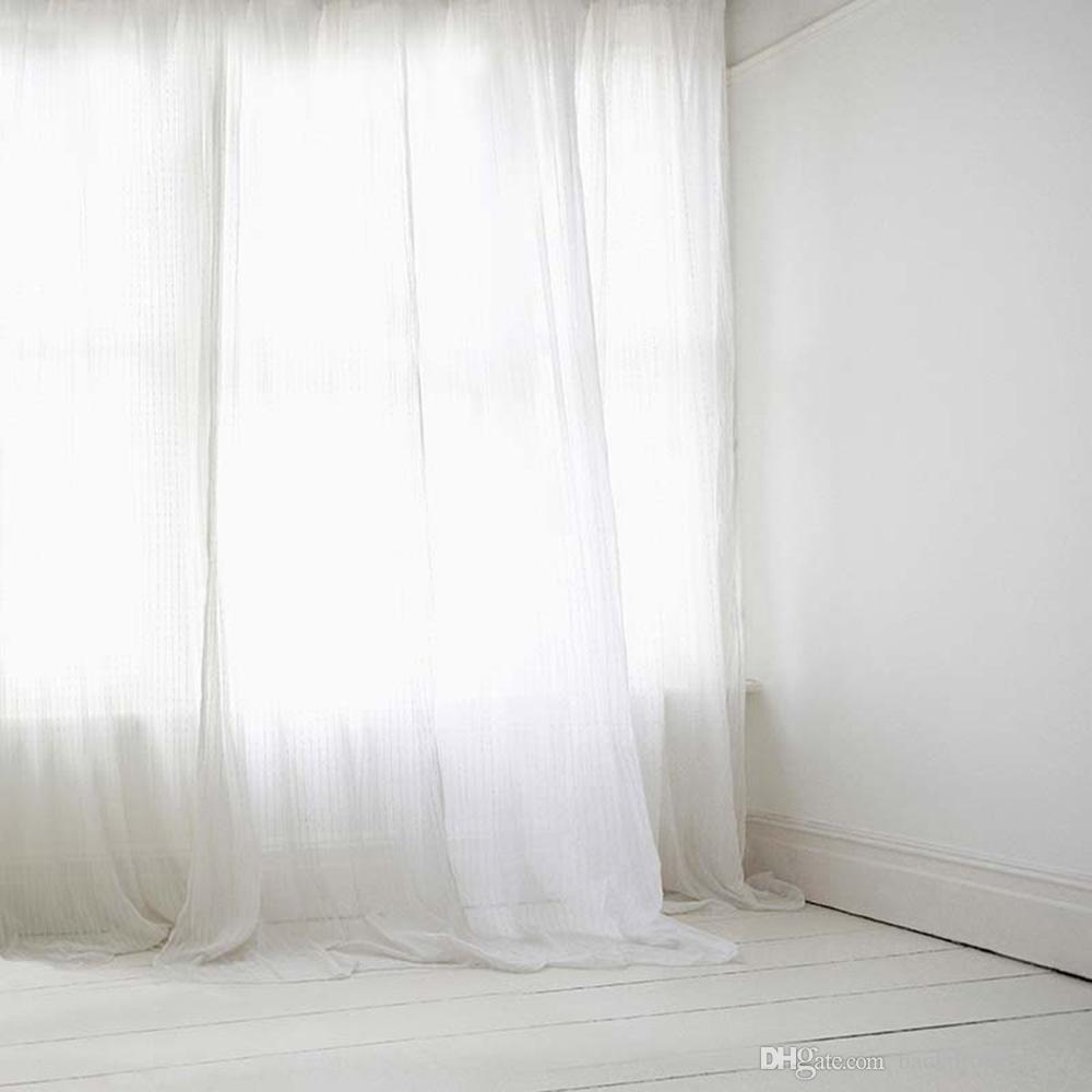 Großhandel Weißer Vorhang Eleganter Fotografie Hintergrund Für