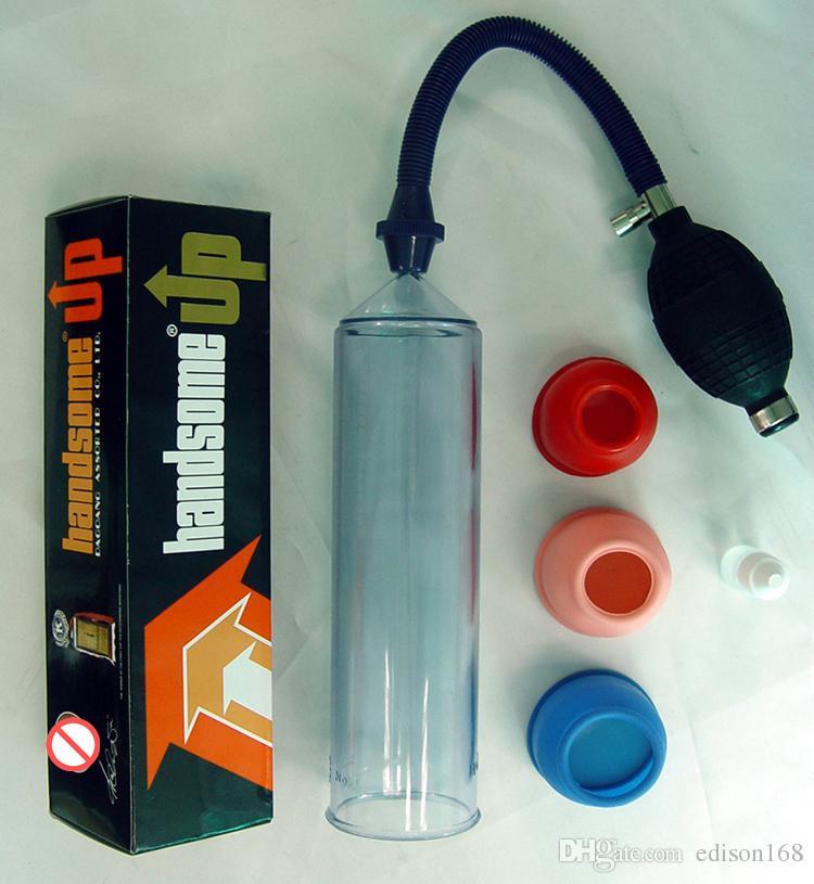 Super Buena Nueva SHAKI Handsome Up Bomba de vacío para pene Amplía Cock Enlargement Extender Adult Male Sex Toy Producto