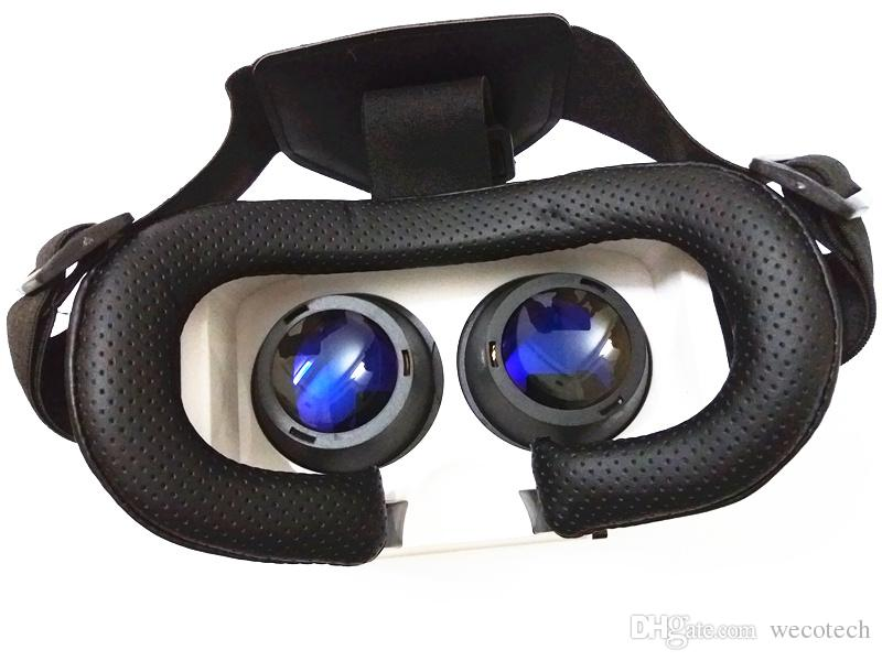 VR Case 3D Glasses Virtual Reality 3D Video Game Blue Light Cut Glass Lens VR Box 3D VR Glasses For iPhone Smartphone and Bluetooth Control