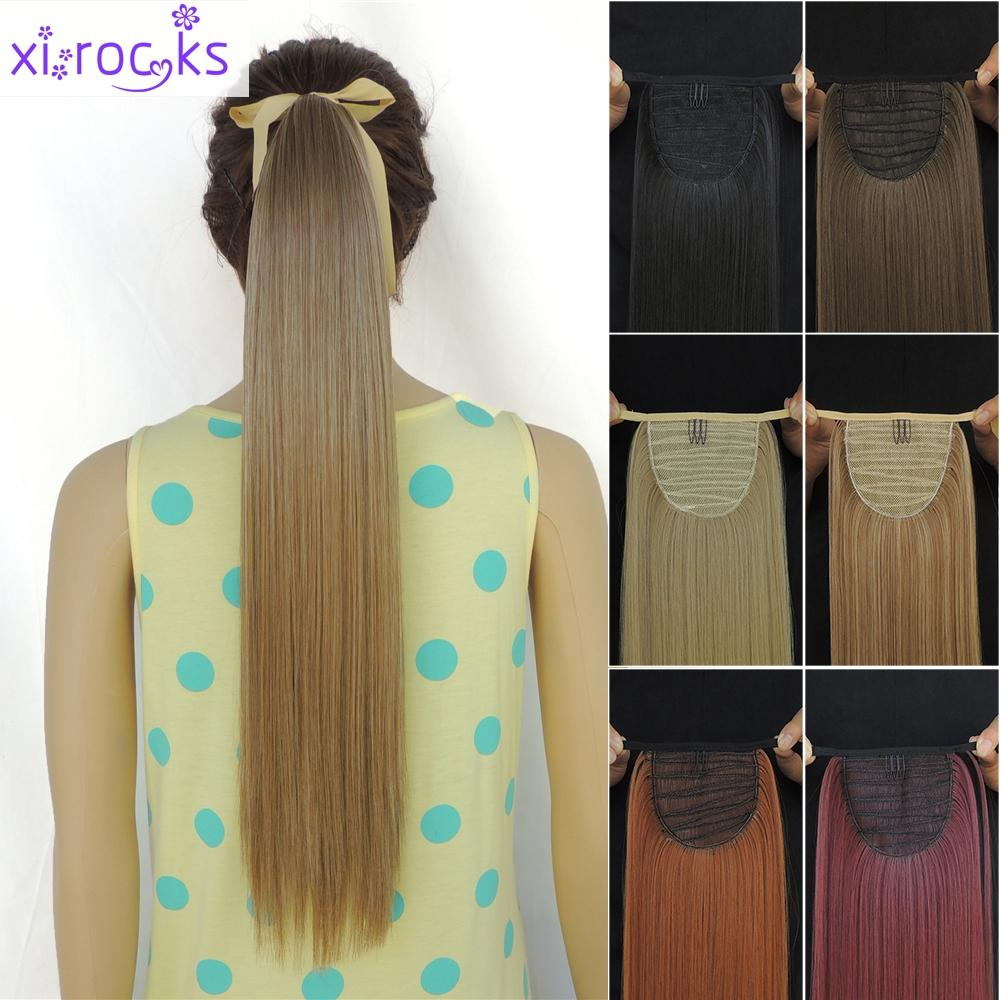 Wholesale Multicolor Woman Ponytails Synthetic Hair Extensions 22