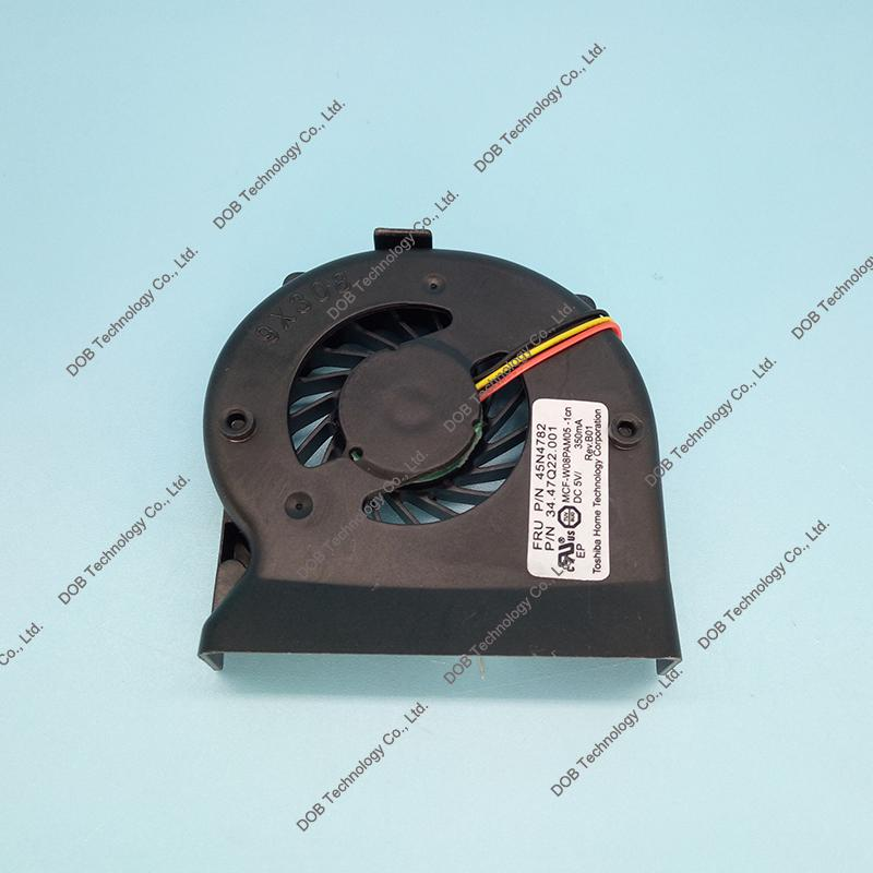 Wholesale- 44C9550 44C9549 45N4782 60Y5422 MCF-W08PAM05 MCF-W08PAM05-2 laptop CPU Cooling Fan For lenovo IBM Thinkpad X200 X201I X201 Fan