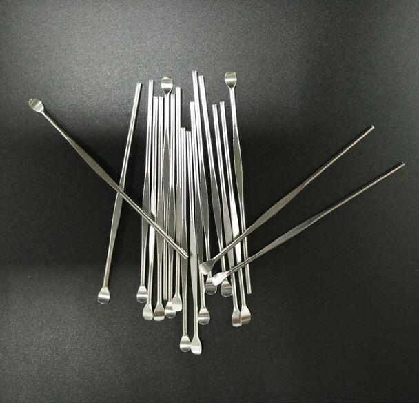 DHL Wax ferramentas dabber ego evod cera atomizador cig aço inoxidável dab ferramenta titanium nail dabber ferramenta earpick erva seca vaporizador caneta ferramenta