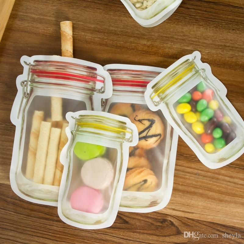 Discount Storage Zipper Fresh Bag Food Snack Clip Grip Coffee Plastic Clear Ziplock Reclosable Food Storage Bags Travel C&ing From China   Dhgate.Com & Discount Storage Zipper Fresh Bag Food Snack Clip Grip Coffee ...
