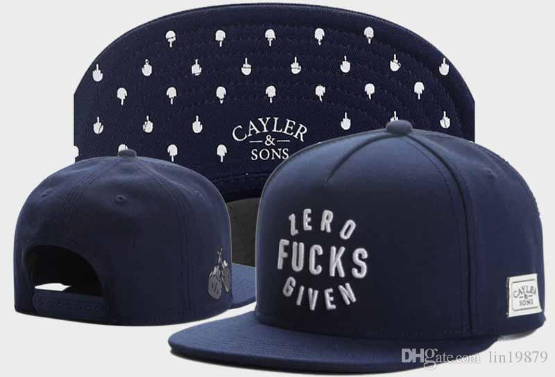 89760ae8dbc 2017 New Snapback Cayler   Sons ZERO GIVEN Baseball Caps Sports Hip ...