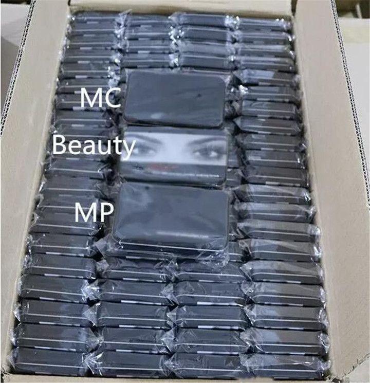 메이크업 도구 브러쉬 Mc mP Beauty 전문 브러쉬 세트 철 상자 블랙 색상 DHL 배송