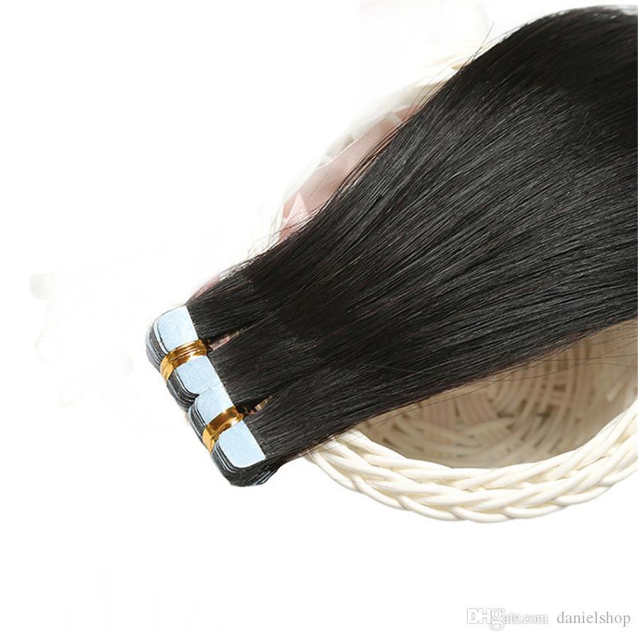 2шт натуральный цвет настоящие волосы бесшовные без следа поддельные волосы прямые волосы невидимый парик