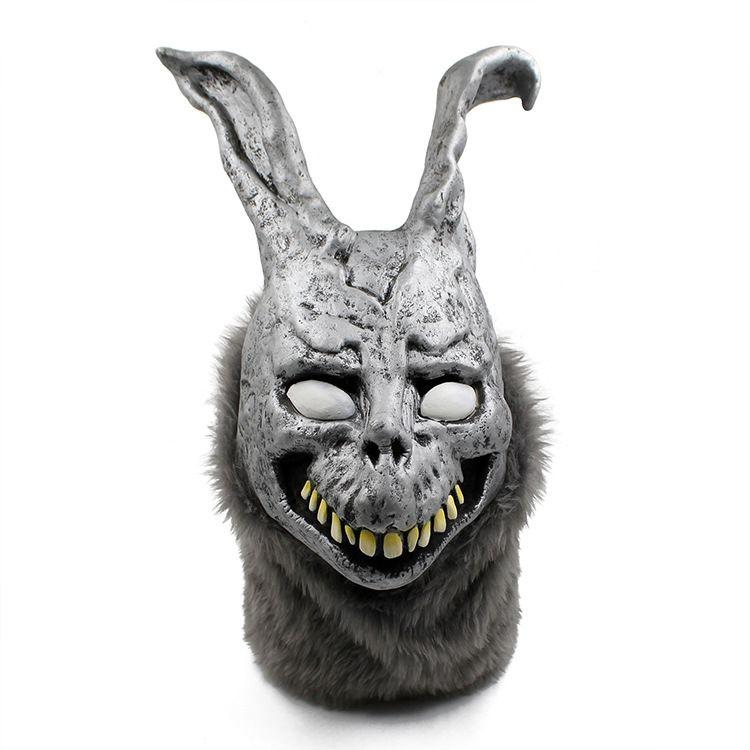 2017 Wholesale Halloween Party Cosplay Donnie Darko Rabbit Mask Scary Animal Full Head Horror Mask Zombie Devil Skull Mask Toy