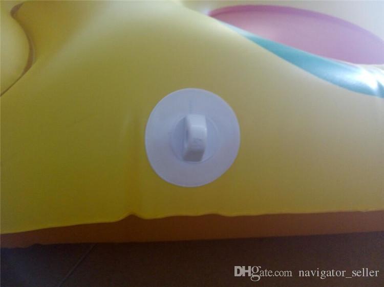 Piso inflable flotante de verano Natación de agua flotante Balsa Colchón de aire Natación Piscina Playa Juguete Pizza Patrón DHL / Fedex