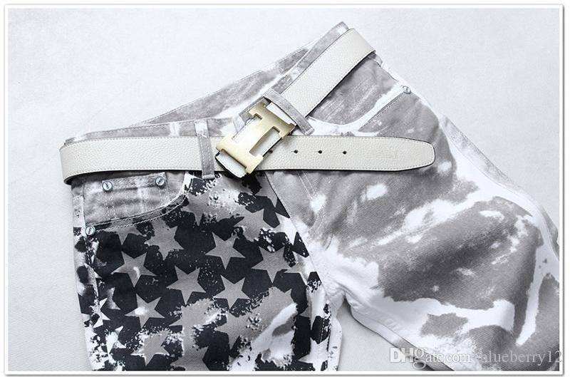 Fashion hot mens designer jeans men famous brand denim with wings american flag plus size