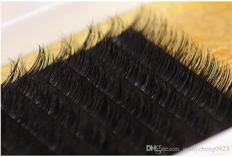 9-13mm JBCD Curl 0.15mm thickness Premium Mink Eyelash Extension Real Mink Natural Style Individual False Eyelashes