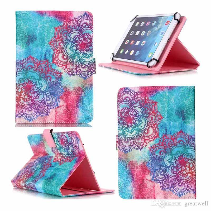 Olho preto não toque em minha almofada Effile torre 7 polegadas 10 polegada Universal PU Folio Wallet Caso Capa de Couro Tablet Capa Protetora Estande tablet