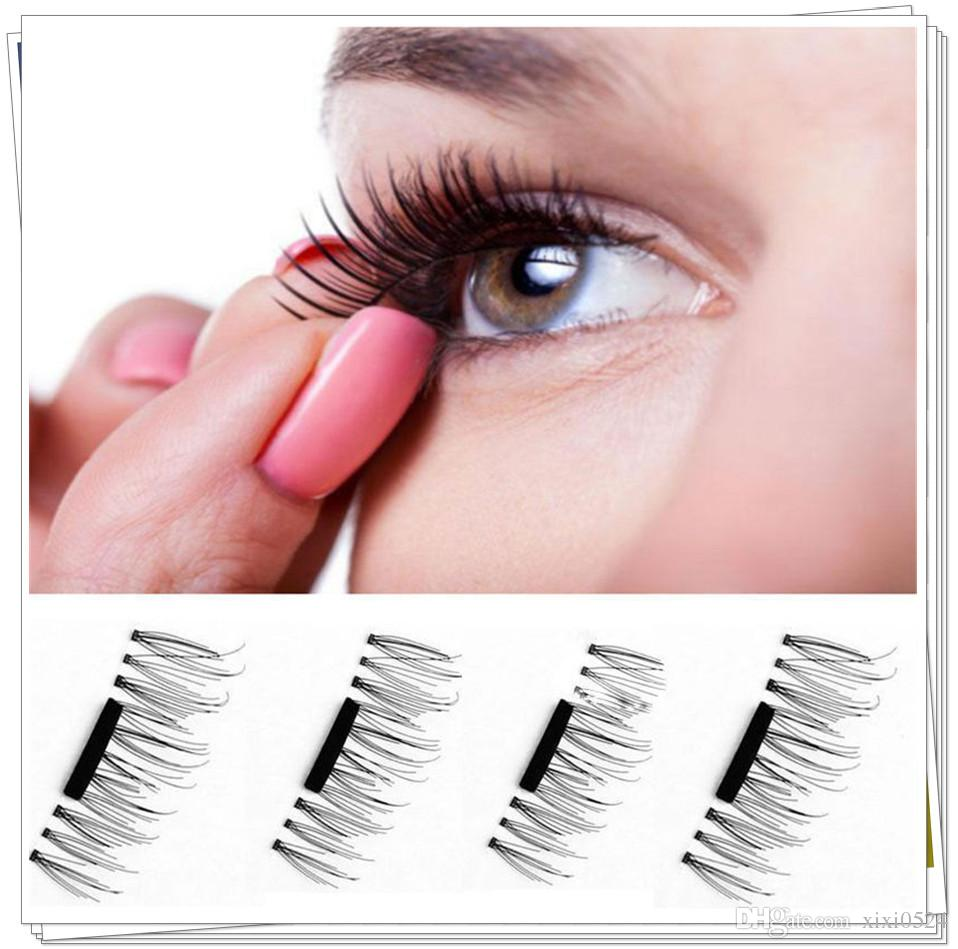 Magnetic Eyelashes 3d Lashes Extension For Professionals False