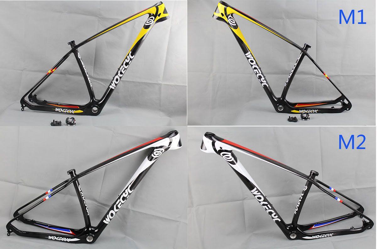 Wokecyc 27 5er Mountain Bike Carbon Fiber Frames 650b Mtb Bicycle