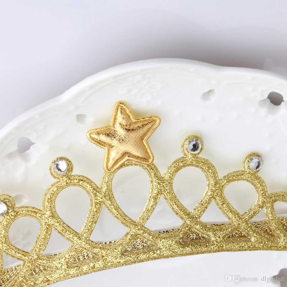Glittering Crown Headband Girls Hair Band Head Wrape Hair Accessories Princess Headband