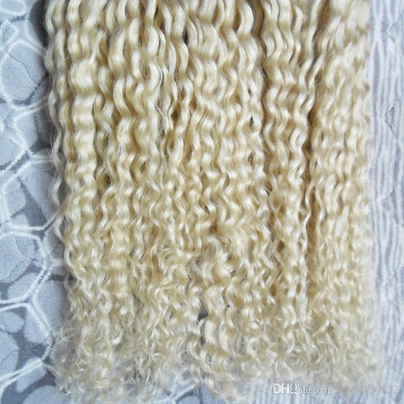 #613 отбеливатель блондинка кератин наращивание волос U совет 200s вьющиеся кератин Бонд наращивание волос 200 г вьющиеся фьюжн наращивание волос
