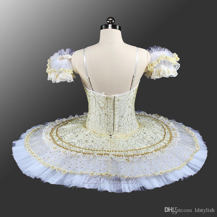 White Swan Lake Ballett Tutu Kostüme LD0053 Candid Ballett Tutu Professional Mädchen Die Schneekönigin Fee der Zärtlichkeit
