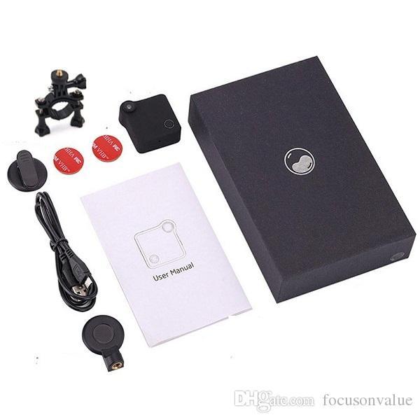 Camera C1 Mini DV WIFI IP con magnete clip HD 720P Home Security Cam telecamera indossabile sport della macchina fotografica DV di azione le attività all'aperto