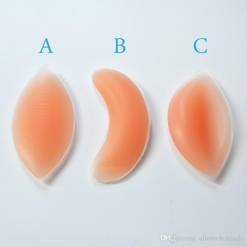 Silicone BH-gel Invisible Inserts Pads Push-up Enhancer Breast / Party Retail Box-pakket