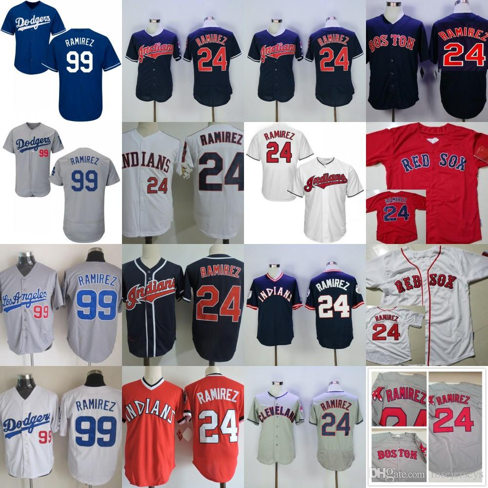 7eeebac51 ... coupon for cleveland indians 24 manny ramirez navy blue white throwback  boston red sox jersey cheap