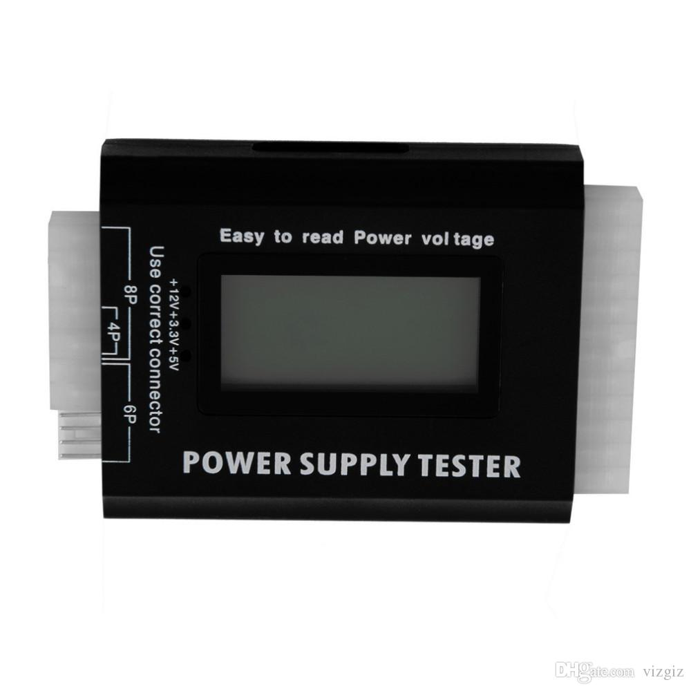 ITDR-IV-02 Digital LCD PC Computer PC Power Supply Tester 20/24 Pin SATA HDD Testers wholesale