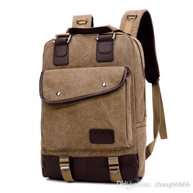 1c58ef1783 Acquista Zaino Di Tela Vintage Donne Adolescente Ragazza Uomo Casual Scuola  Borsa Da Viaggio Moda Zaini Laptop Bag ZDD2212 A $25.89 Dal Zhang66666 |  DHgate.