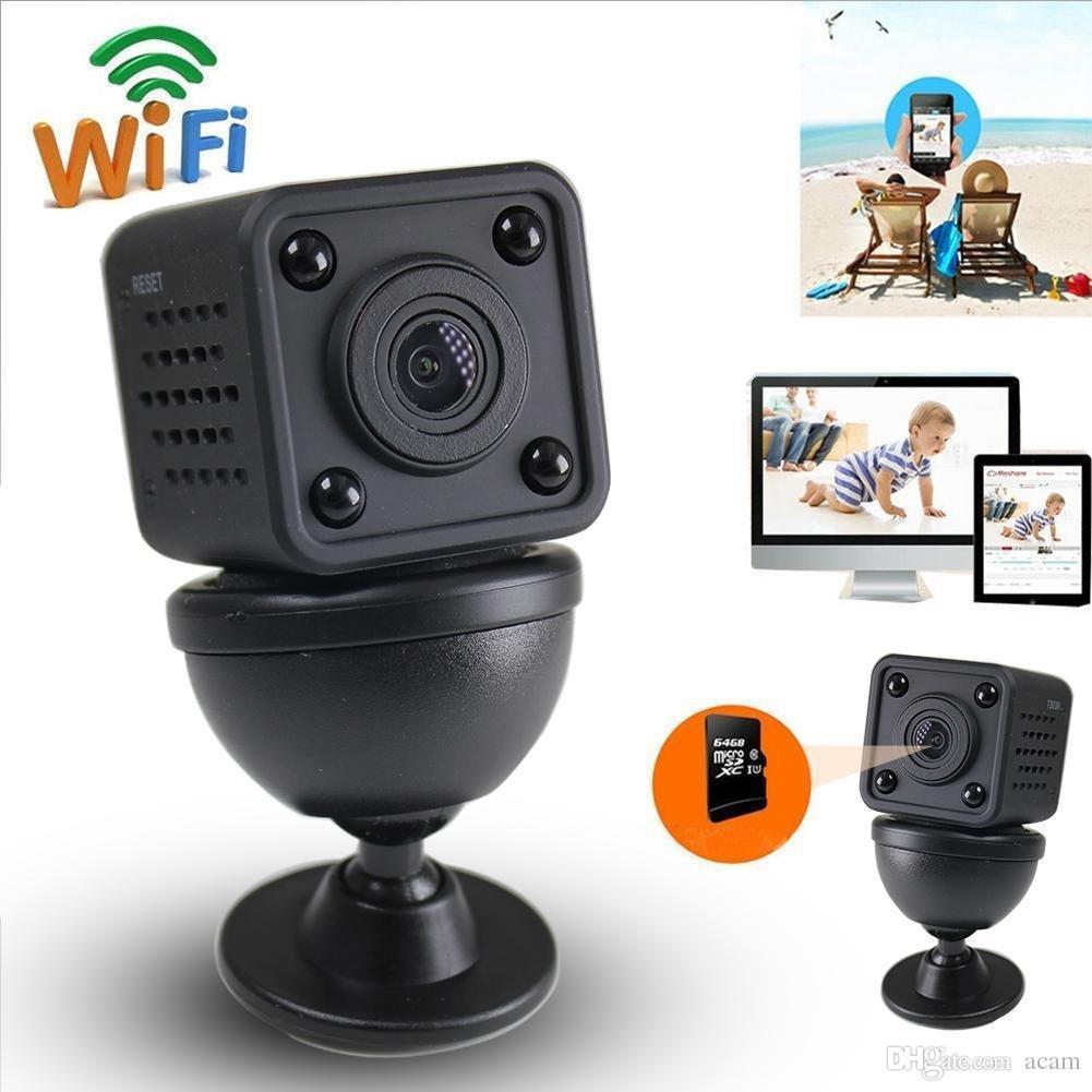 Mini cámara IP 720P HD Wifi Wireless con visión nocturna Nanny Cam IP Home Security Vigilancia Baby Monitor de la cámara