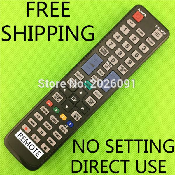 Wholesale- REMOTE CONTROL USE FOR SAMSUNG LCD / LED / TV / BY HUAYU FACTORY