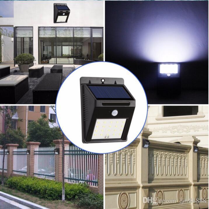 LED Solar Infrared Sensor Light Human Body Motion Induction Lamp Outdoor Emergency Path Lamp Security Garden Solar Light