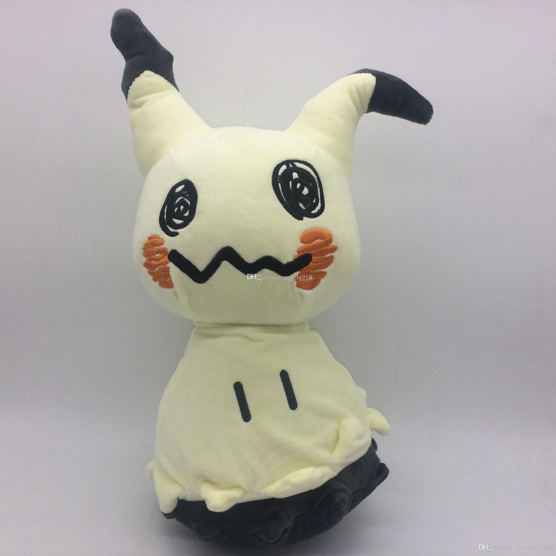 2017 New Poke Plush Toys Q Version Pikachu Stuffed Animals Baby Doll  30cm/12 Inches C2014 Poke Plush Toys Pikachu Plush Toys Pikachu Stuffed  Animals Online ...