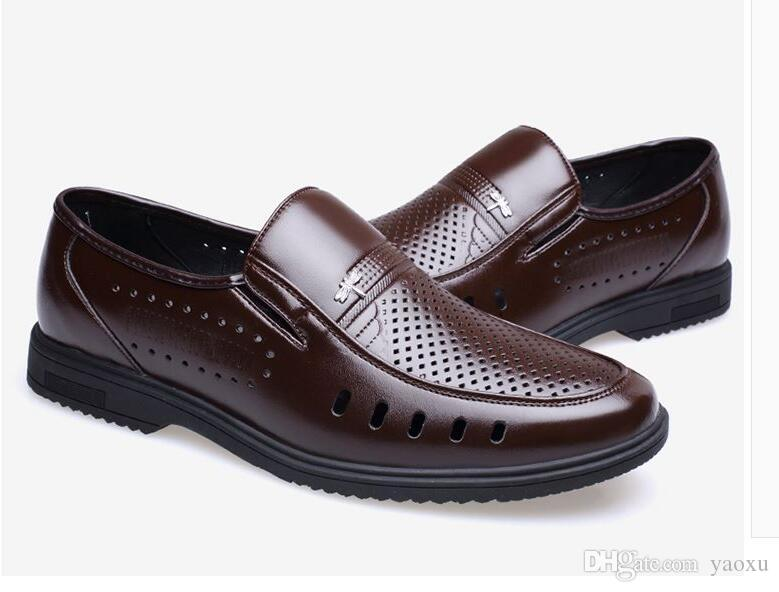 Mode Business Kleid Männer Schuhe 2019 Neue Klassische Herrenanzüge Schuhe Mode Slip On Schuhe Mann Wohnungen