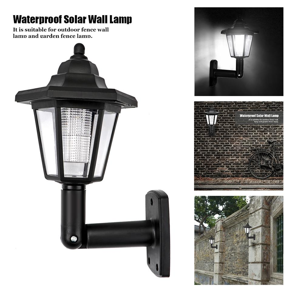 2017 waterproof solar garden light led wall lamp hexagonal cool waterproof solar garden light led wall lampg baanklon Choice Image