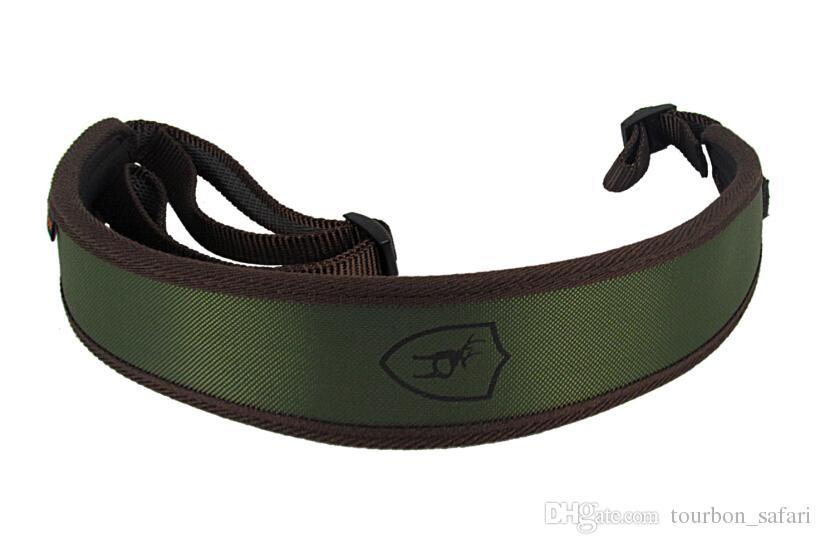 Durável Gun Sling Rifle Shotgun Sling Gun Strap Tourbon Cinto de Arma de Caça Neoprene Verde Sling Transportadora