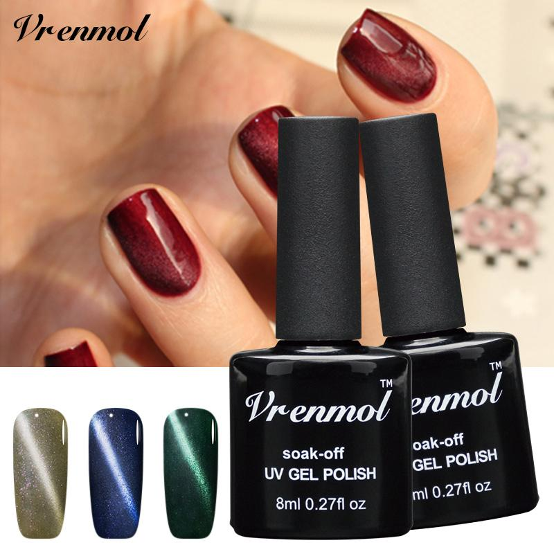 Wholesale Vrenmol Magnet 3d Varnishes Esmaltes Led Cat Eye Gel Nails ...