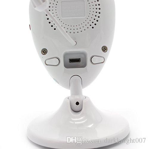 YENI 2.4 inç Ekran Gece Görüş Köpek / Dadı / Pet Monitörler Kablosuz Güvenlik Akıllı Kamera 2.4 GHZ Kablosuz Sıcaklık Algılama Bebek Monitörler