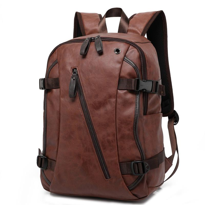 2017 New Arrival Men Backpacks PU Leather Fashion Bag Women Backpack School  Bag Travel Men S Backpacks Men Bags W8103 Backpack With Wheels Dakine  Backpack ... 868677c157218