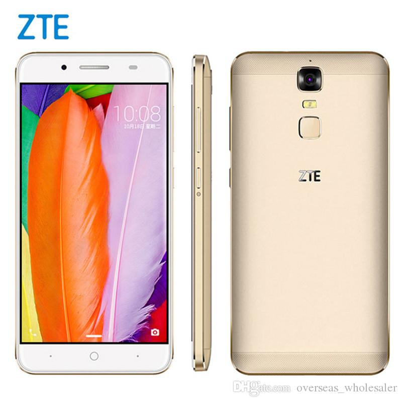 brand new 28c3d d973a Original ZTE Blade A2 Plus 4G LTE Mobile Phone MTK6750T Octa Core 3GB/4GB  RAM 32GB ROM Android 6.0 5.5 13.0MP Fingerprint Smart Cell Phone