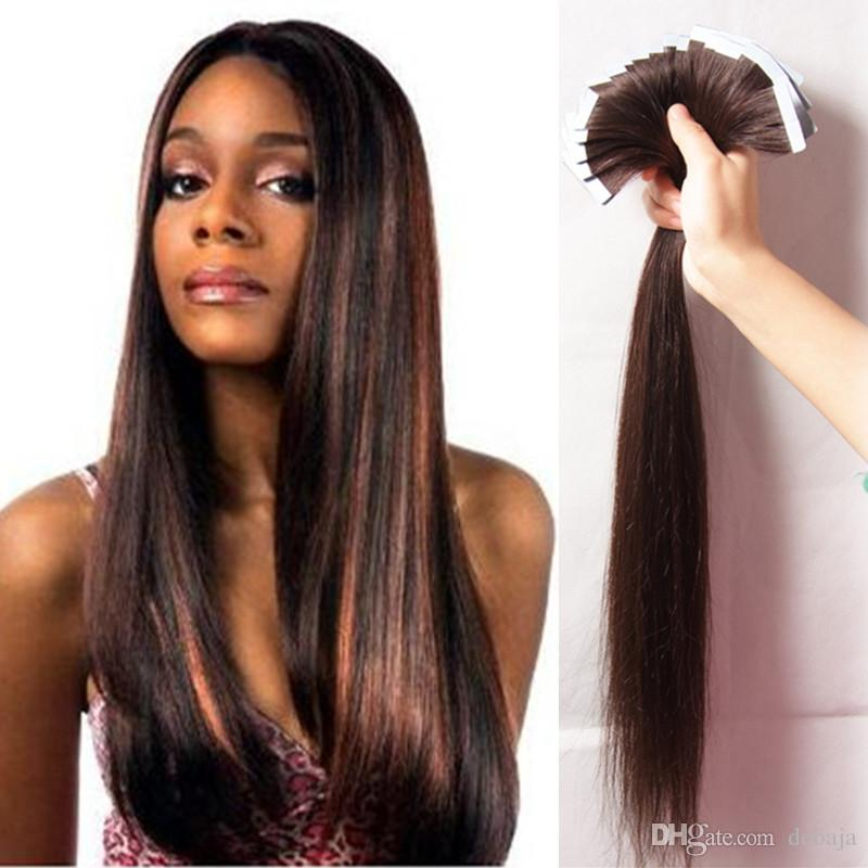 Brazilian blonde brown black skin weft tape in hair extensions brazilian blonde brown black skin weft tape in hair extensions multi color crochet remy human virgin hair extension silky straight hairpiece i tip pmusecretfo Images