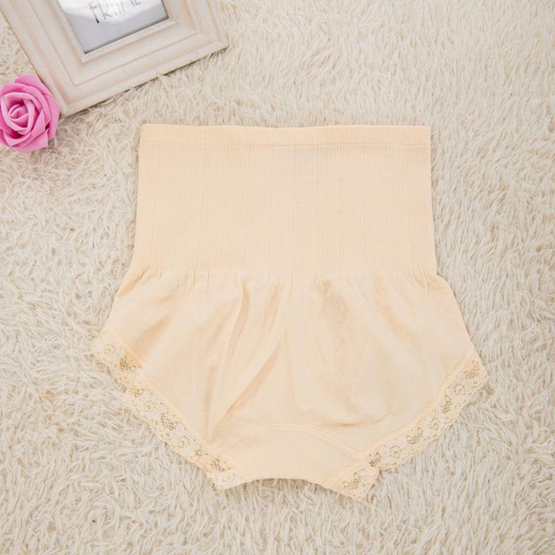 2018 New High Waist Tummy Control Body Shaping Abdomen Slim Underwear Sexy Women Seamless Control Panties Breathable Plus Size Underwear