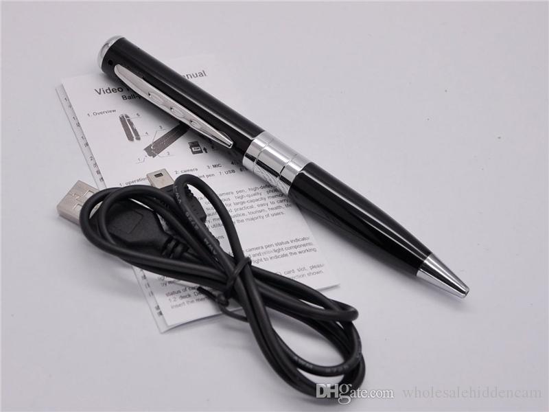 Mini macchina fotografica della penna della mini penna del registratore portatile portatile di affari di sicurezza DVR della mini macchina fotografica della videocamera di HD mini DVR di DV libera il trasporto