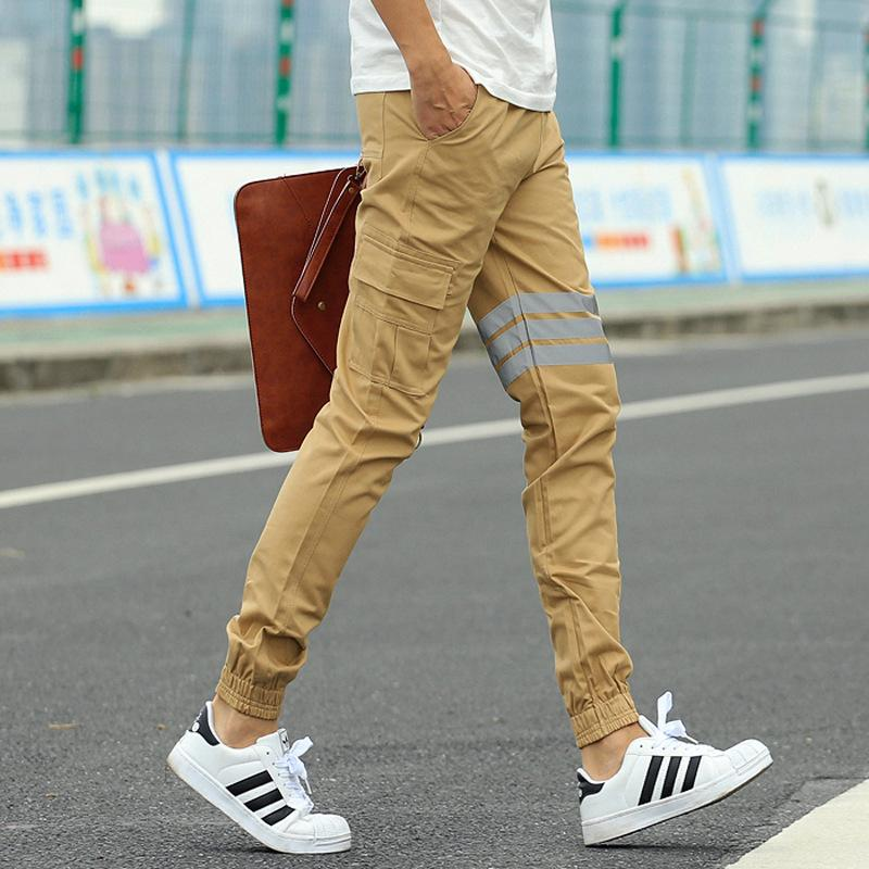 2019 Wholesale 2016 New Publish Joggers For Men Fashion Stripped