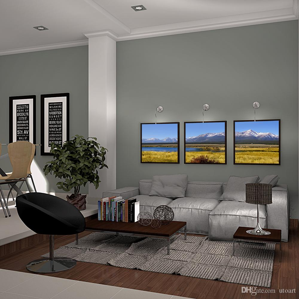 Modern Wall Decor Painting Mountain Landscape Art Print Decorative Digital Picture Canvas Printing For Home Decoration