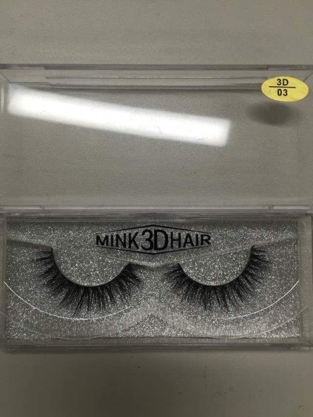New 100% Handmade Mink Long False Eyelash 3D Strip Mink Lashes Thick Fake Faux Eyelashes Makeup Beauty Tool