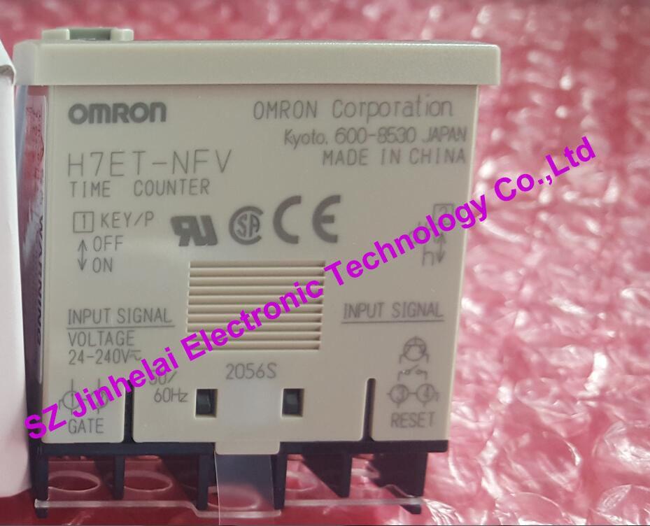 100% Nuovo e originale H7ET-NFV OMRON TIME COUNTER 24-240V