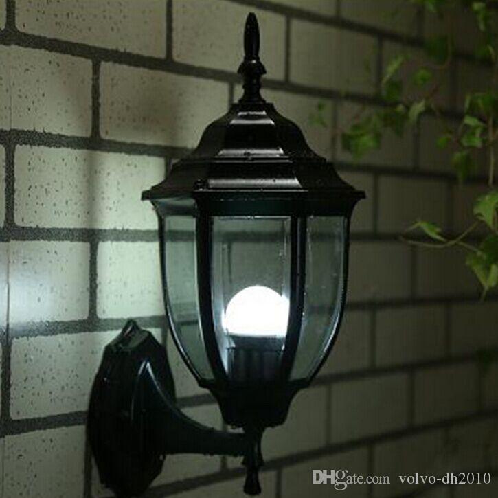 Lampada da esterno Lampada da parete europea moderna semplice esterno  impermeabile cortile lampada retro illuminazione paesaggio illuminazione a  led ...