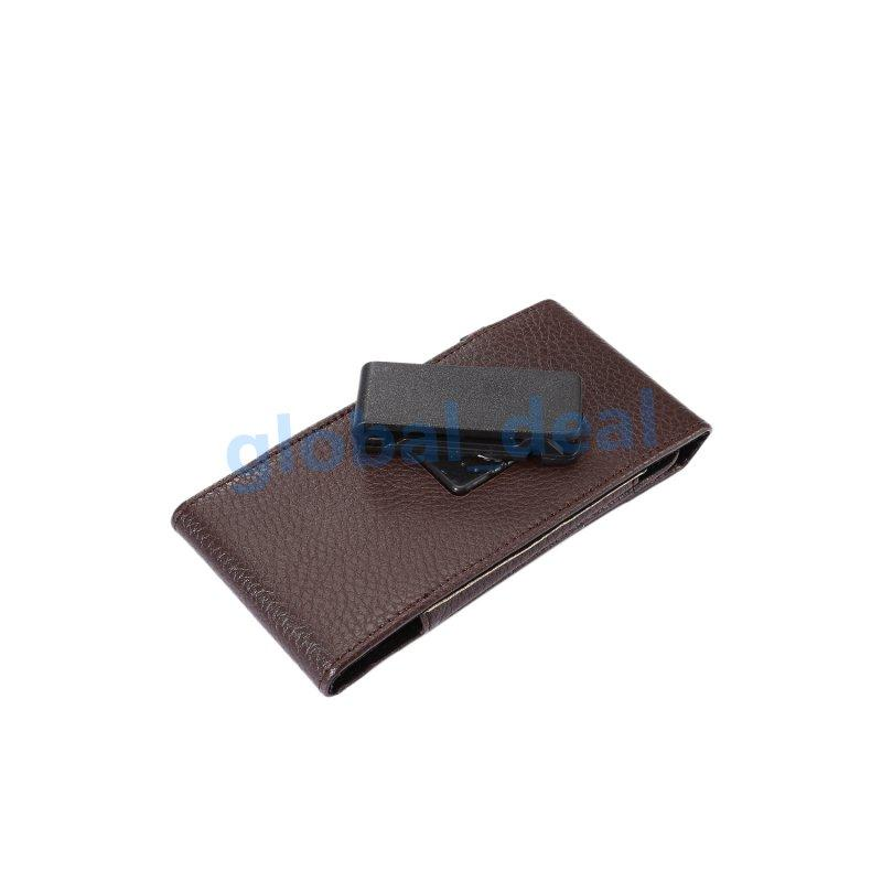 Хип личи шаблон кожаный бумажник клип чехол для Iphone 7 6 6 S плюс 5 5S 5se Galaxy S8 S7 Edge S6 Примечание 5 пряжка 360 градусов ремень сумка