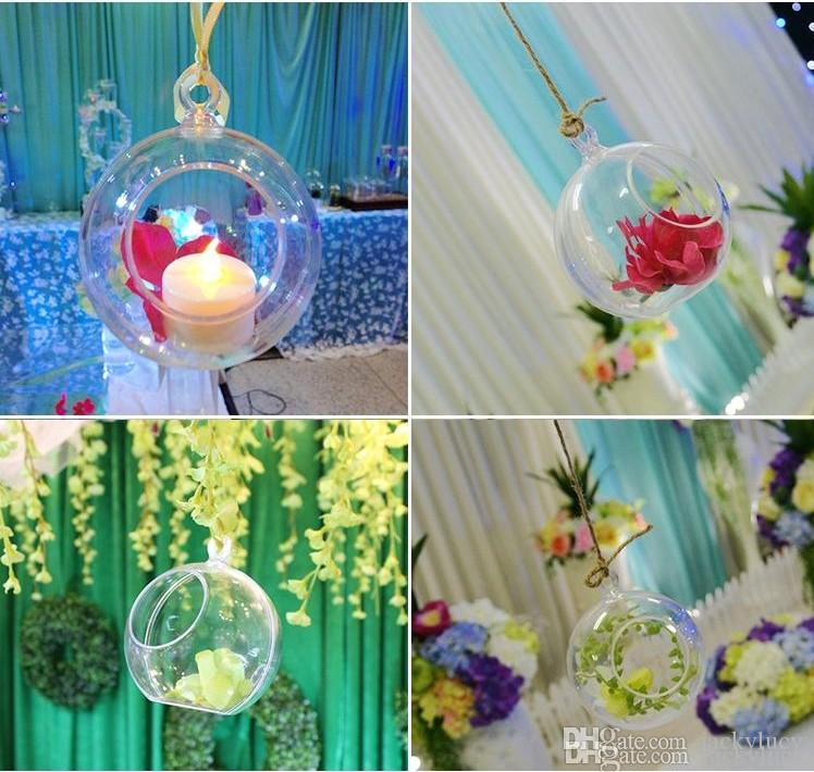 New 100mm Transparent Acrylic ball wedding party layout decorations road lead arch flore hanging ornaments part home decor