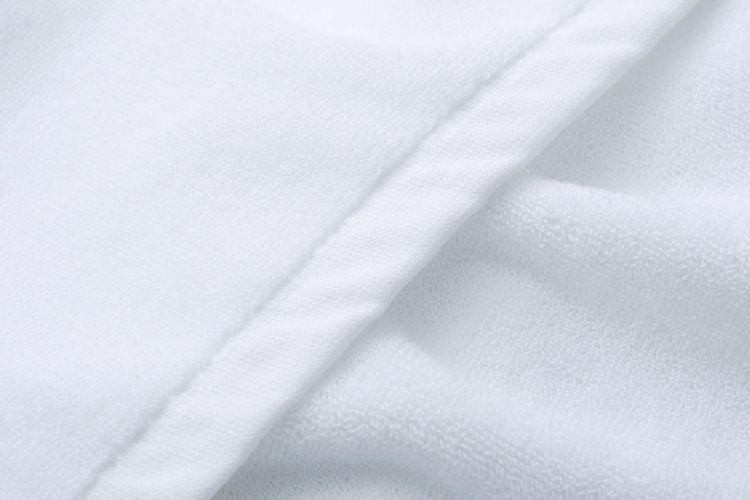 Luxury Large White Cotton Bath Towel Hotel Spa Beauty Foot Massage Sauna Towel Dryer Serviette Bain