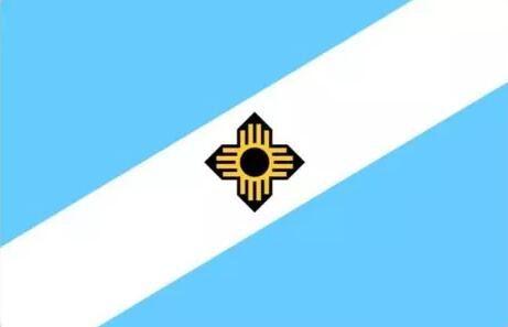 USA Wisconsin Madison City Flagge 3ft x 5ft Polyester Banner Flying 150 * 90cm Benutzerdefinierte Flagge im Freien