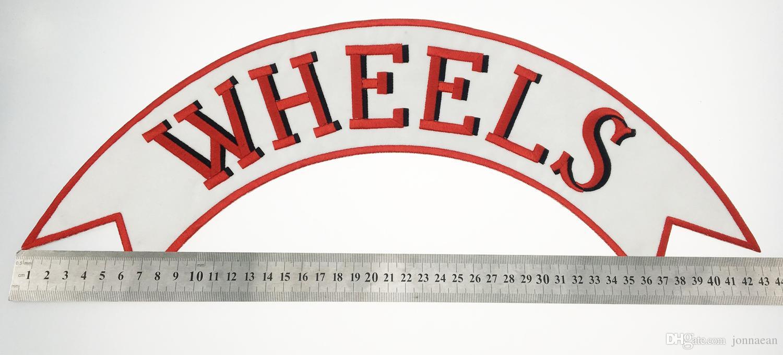 Yeni Varış SOUL TEKLIF 1% Motosiklet Biker Işlemeli Yama Demir On Ceket Yelek Rider Rozet Tam Geri Büyük Boy Yama Ücretsiz Kargo