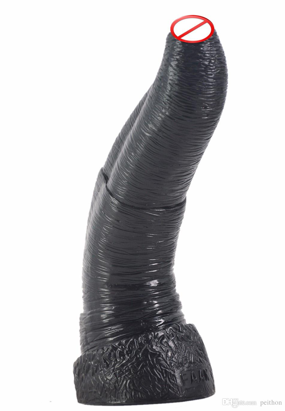 large black big dildo animal penis elephant dildo artificial penis male female anal plug woman couples masturbation sex toys